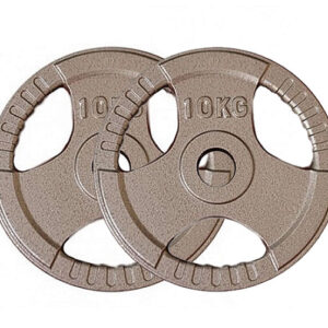 Olympic Cast Iron Weight Plates Pair (10KG x 2)-0