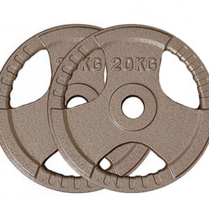Olympic Cast Iron Weight Plates Pair (20KG x 2)-0