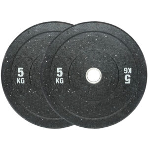 Olympic Hi Temp Bumper Weight Plates Pair (5KG x 2)-0