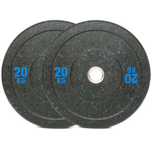 Olympic Hi Temp Bumper Weight Plates Pair (20KG x 2)-0