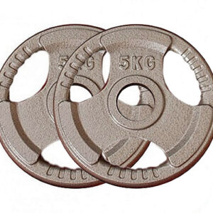 Olympic Cast Iron Weight Plates Pair (5KG x 2)-0