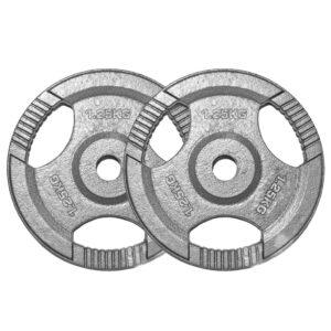 Standard Cast Iron Weight Plates Pair (1.25KG x 2)-0