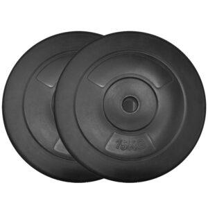 Standard Vinyl Weight Plates Pair (15KG x 2)-0