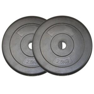 Standard Vinyl Weight Plates Pair (2.5KG x 2)-0