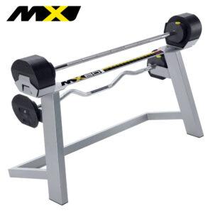 MX Select MX80 Adjustable Barbell & EZ Curl Bar Set-0