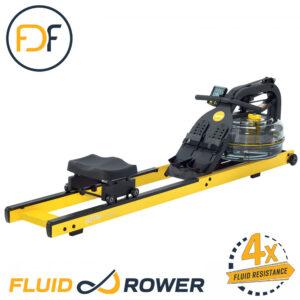 Fluid Neon Plus (Yellow) Indoor Rower-0